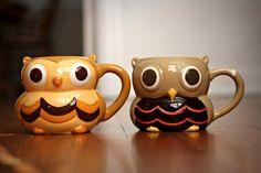 cups, thing owl, cute coffee mugs, owl thing, owls