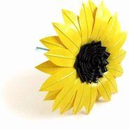 Duck Tape Sunflower!