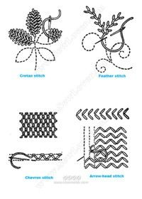 Diy Embroidery Stitches[Reserved] British embroidery needle! (Like the hand of a friend, see ... _ from homesick hand picture Share - heap Sugar Network