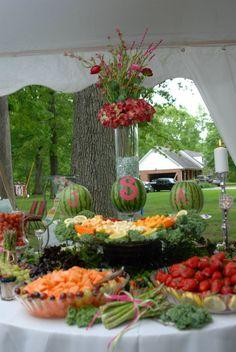 #Wedding #Food #Table