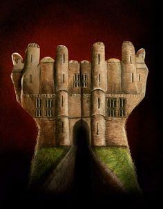 Hand Art Castle