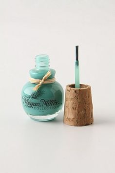 love the color and the cork!