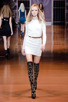 Fall 2014 Trend Report - Runway Fall Fashion Trends 2014 - Harper's BAZAAR dress 60s Wearable trend 2014