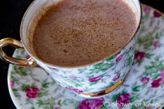 Shower of Roses: 1824 - Josefina :: An American Girl Lap Book and Unit Study || New Mexican Hot Chocolate