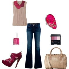 Valentina, created by #jennifer-garcia-llanes on #polyvore. #fashion #style #Lanvin J Brand