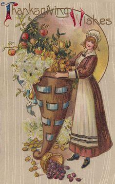 Vintage Thanksgiving Card