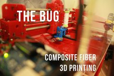 Picture of Fiber Composite 3D Printing (The Bug)