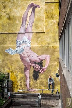 "Cosmo Sarson ""Breakdancing Jesus"" - Bristol, UK"