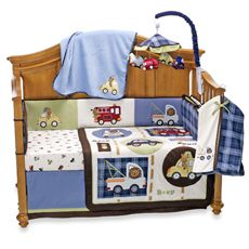 Lambs & Ivy® Vroom 5-Piece Crib Bedding Set and Accessories