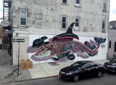 NYCHOS | DISSECTION OF AN ORCA bushwick  Brooklyn 2013