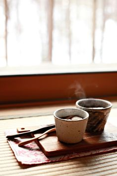 Hot Spiced Green Tea, recipe