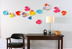 Paper Plate Fish - Under the sea party, bubble guppies!