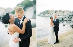 Lake Tahoe wedding photos by Emily Scannell Photography.