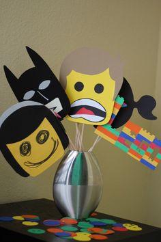 birthday parti, lego parti, mask, lego movi, parti idea