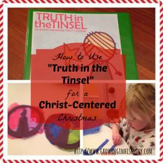 A great how-to for Truth in the Tinsel!
