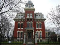 Illinois 'haunted house' sells in bidding war ~ Despite reports of being haunted, this historic mansion at 206 N. Broadway in Joliet, Ill., sold in a week in a bidding war. And the enthusiasm hasn't ended. Listing agent Maria Cronin is still planning to hold an open house this weekend — mainly to accommodate ghost hunters who are traveling in to view the property & try to contact the spirits that reportedly dwell in the home.