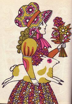 The Fireside Book of Children's Songs. Illustrator John Alcorn