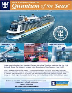 Crown & Anchor Society Pre Booking Event for Quantum of the Seas