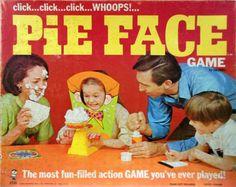 Vintage Toys: Pie Face Game