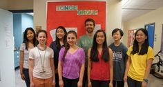 Tonge lab high school students 2014
