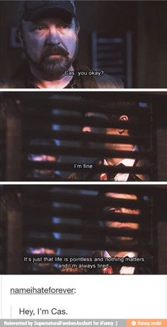 I am Cas and Cas is me