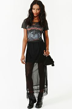 Color Of Night Maxi Skirt