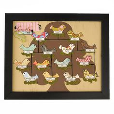 """Easy Family Tree Artwork """"Create a whimsical wall hanging of your family tree using your favorite scrapbook supplies."""""""