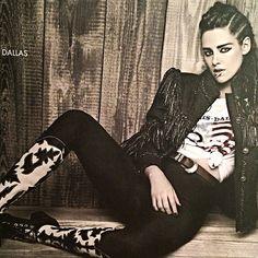 Kristen for Chanel.