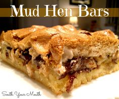 South Your Mouth: Mud Hen Brownies