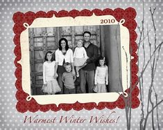 Tons of FREE Christmas Photo Card Templates