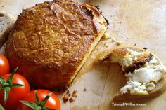 Vegan Baked Nut Cheese