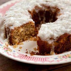 From Trisha Yearwood: Grandma Yearwood's Coconut Cake with Coconut Lemon Glaze
