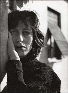 Herbert List Anna Magnani in her country house. San Felice Circeo 1950