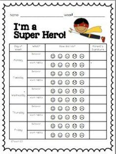 ... Behavior Charts, Preschool Behavior Charts and Preschool Behavior