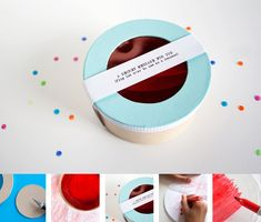 Make your own secret messages and decoders. Fun!