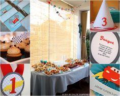 """Decoracion tematica Evento Infantil: Fiesta de cumpleaños """"Cars"""""""