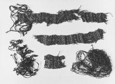 Oseberg tablet weaving. Kulturhistorisk museum, Oslo.