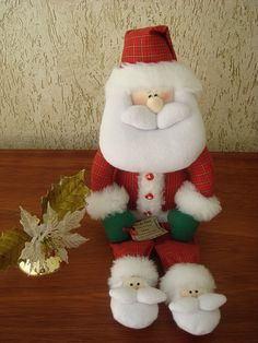 Papai Noel de Pantufas
