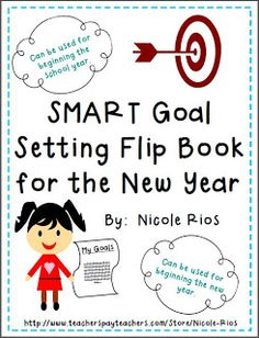 SMART Goal Setting Flip Book FREEBIE!