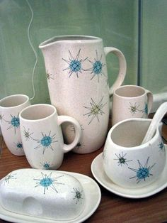 atomic tea set :)