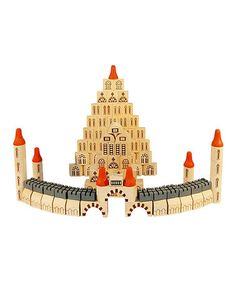 Take a look at this Wonder Castle Block Set by DIY KIDS on #zulily today!