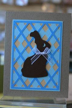 Cricut Easter Card. Made with Easter and Wild Card Cartridges. By Craft Fancy.  *