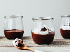 Two ingredient chocolate mousse by Ashlae | oh, ladycakes, via Flickr