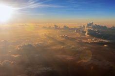 Aerial Sunset by Chaluntorn Preeyasombat, via 500px lights, sky, light captur, chaluntorn preeyasombat, sunsets, photograph chaluntorn, natur pictur, aerial sunset, heavens