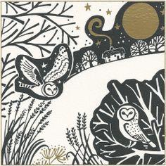 owls by Lucy Grossmith
