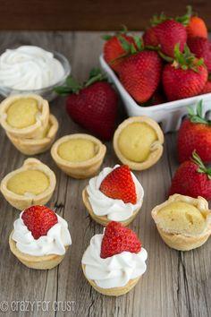 Mini Strawberry Shortcake Pies