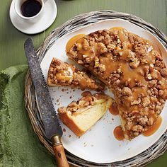 Caramel Apple Coffee Cake - MyRecipes