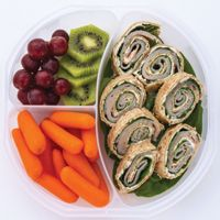 Pizza Rolol Ups  This recipe works well in a bento box! Bento boxes are all the rage in kids' lunches.