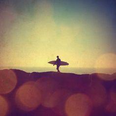 The lone surfer, visit Surf Maroc www.surfmaroc.co.uk