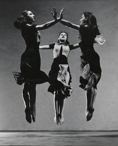 Martha Graham, Celebration (Trio) / Barbara Morgan (American, 1900–1992) / 1937 / Gelatin silver print